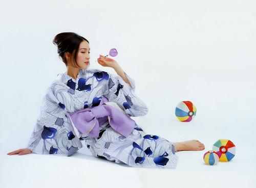 YUKATA 麻生久美子 Kumiko Asou