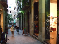Shopping in Barcelona