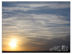 Be HonEst ! (Mi$s-Q8) Tags: sunset sky sun clouds kuwait q8