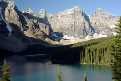Moraine LAKE (Dan Stuller) Tags: lake canada mountains alberta banff banffnationalpark morainelake canadianrockies valleyofthe10peaks