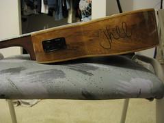 Ukulele Signed by James Hill (mdnjustin) Tags: canon ukulele jameshill sd750