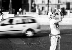 taking photos of a tourist taking photos. (*northern star) Tags: boy bw white black rome roma car asian japanese drive moving tourist bn explore korean takingphotos turista vittoriano stolenshot northernstar explored donotsteal allrightsreserved northernstarandthewhiterabbit northernstar tititu chanceshot usewithoutpermissionisillegal northernstarphotography ifyouwannatakeitforpersonalusesnotcommercialusesjustask