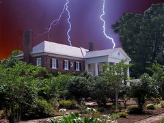 THE HAUNTED (SOUTHERN HEART) Tags: house lightning blueribbonwinner theunforgettablepictures goldenheartaward 100commentsgroup