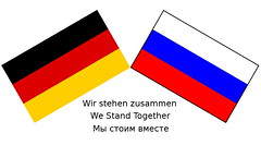 The People of Germany support Russia