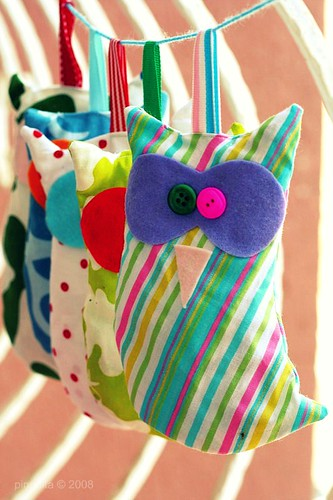 Mommy Creates : Stuffed Owl