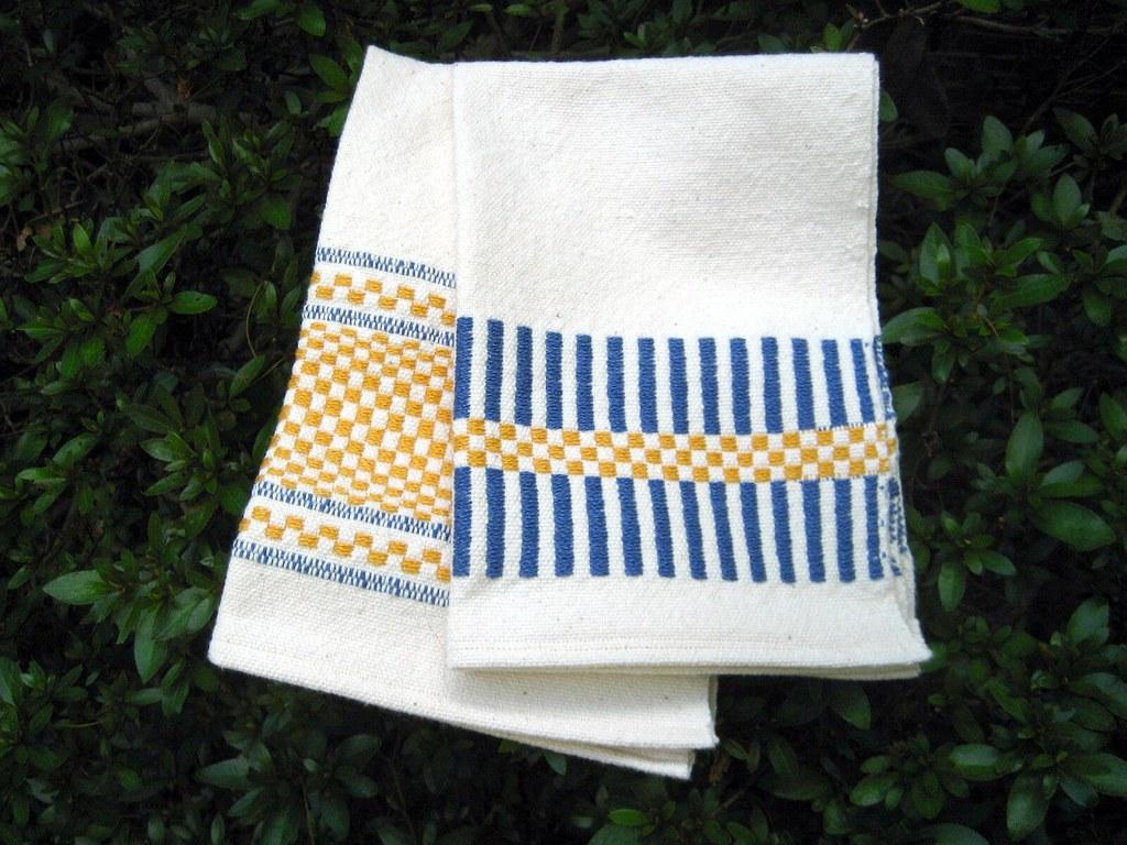 Weaving Class Handtowels