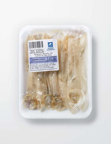 Surfrider - Farmer's Market - Condom strips
