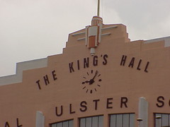 Detail, King's Hall, Belfast