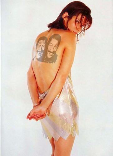 Tattoos For Brothers. Sandra Bullock tattoo