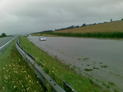 A69 Eastbound at Bywell