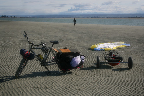Xtracycle & Kite Buggy @ the Beach
