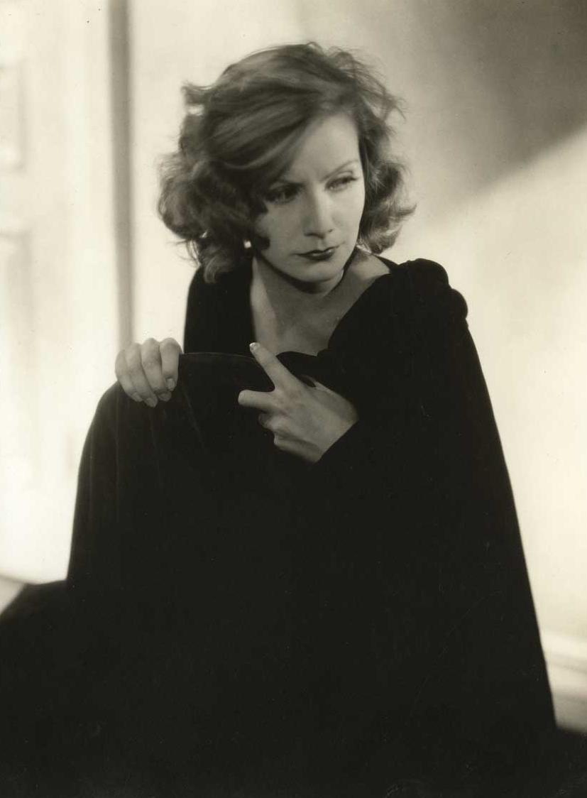Greta Garbo (sepia) par Edward Steichen