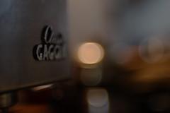 Gaggia Classic (Skink74) Tags: 20d classic coffee dof bokeh f14 espresso gaggia eos20d firstlight nikkor35f14 nikkor35mm114ai