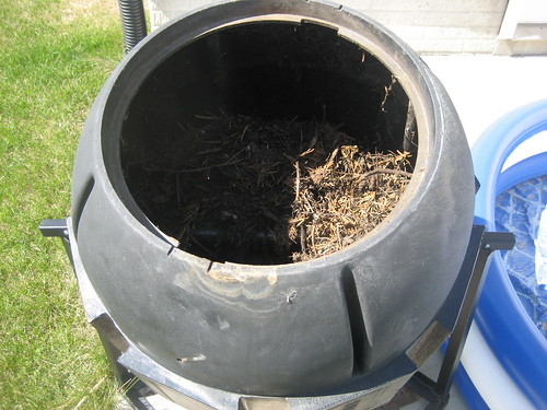 My barrel composter