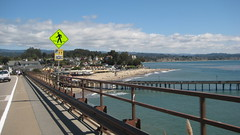 Looking down on Capitola Village Beach IMG_1404.JPG Photo