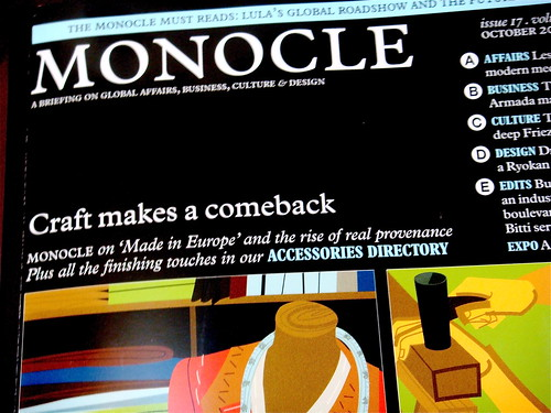 Monocle 2008/10 by you.