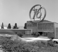 Union Oil Research, Brea, circa 1965 (Orange County Archives) Tags: california history signage oil historical southerncalifornia orangecounty modernarchitecture brea unocal 76 petroleum unionoil orangecountyarchives orangecountyhistory unionoilresearch