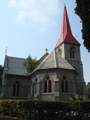 st lukes church (tango 48) Tags: pakistan church cross spire christianity christians abbottabad