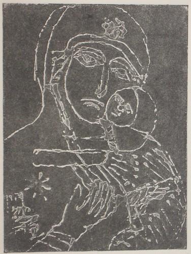 Vladimir Relief Print