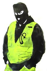 test stencil, warnen/tarnen (l.e.t.) Tags: streetart pasteup art germany army graffiti stencil sticker gallery contemporary kunst wheatpaste popart camouflage silkscreen let woostercollective