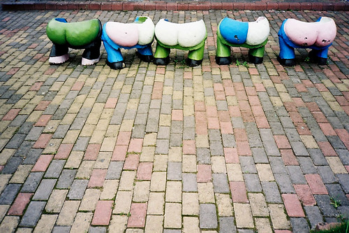 Bums on seats by Nothing exceptional here, on Flickr
