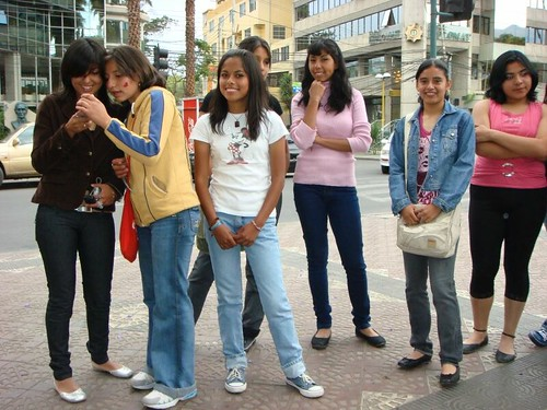 The Tarija Teens. Cochabamba, Bolivia.
