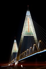 Bridge Lights (h.andras_xms) Tags: city bridge night hungary nightshot budapest 1ds suspensionbridge markiii handras