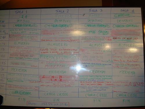 Pizarra BarCamp BA 2008
