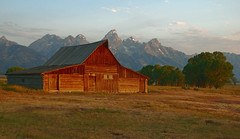 The Barn Beckons (Jeff Clow) Tags: morning barn landscape early jpeg 3xp mormonrow fdrtools moultonbarn abigfave platinumphoto antelopeflatsroad theunforgettablepictures goldstaraward jeffrclow