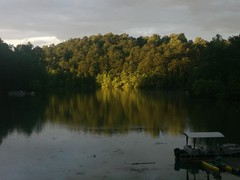 Sunset at the lake 1 (Realtorldy) Tags: virginia oldwomanscreek leesvillelake flattopcove grenta