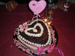 Heart  birthday cake (Hey Liz!) Tags: birthdaycake