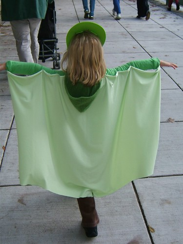 The Kid's Costume: A Pteradactyl
