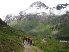 Auf dem Weg zur Lizumer Hütte