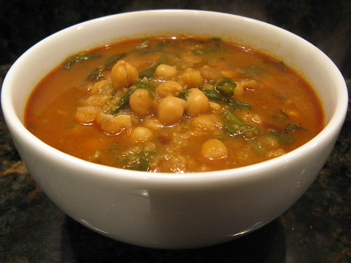 A Good Appetite: Moorish-Style Chickpea & Spinach Soup