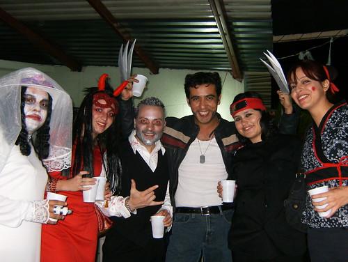 Pablo, Adriana, Pedro, Yo, Tania y Fany