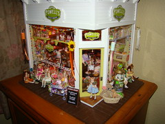 Miniature Sweet Shoppe (It's a miniature life...is playing with clay) Tags: miniatures candy kim sweet powells dollhouse shoppe saulter 112scale