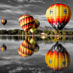 "Colorado Balloon Classic - ""No blue balloon"" (iceman9294) Tags: fall balloons bravo colorado searchthebest balloon professional coloradosprings bec hotairballoons hdr ballooning coloradoballoonclassic flickrlovers"