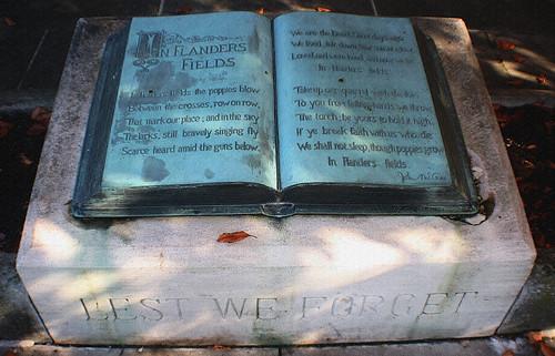 John McCrae Memorial / McCrae House / Guelph, Ontario