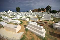 Tunisia 41 (Wy@rt) Tags: africa castle cemetery graveyard tunisia islam graves afrika tunisie islamic rabat monastir aficionados tunesië ribat lafrique