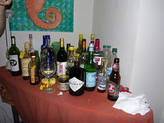 leftovers. (stephiblu) Tags: november autumn party guests fun nj montclair 2008 autumnball autumnball2008 tichenortichenors