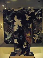 Kimono with Birds in Flight (peterjr1961) Tags: nyc newyorkcity newyork art japan museum japanese artmuseum themet metropolitanmuseumofart
