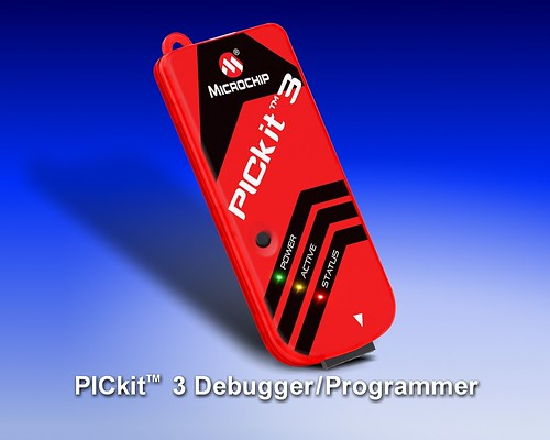 Microchip's MPLAB PICkit 3 In-Circuit Debugger/Programmer uses in-circuit