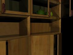 3d Bookshelves Tests (moxie58) Tags: school 3d 3dsmax