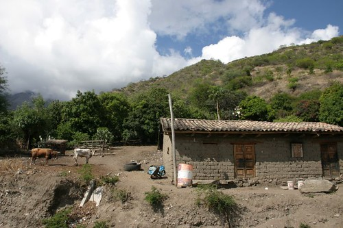 Peruvian mud brick house.