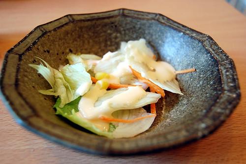 小鉢、サラダ(ぶつをのうどん・宇都宮市) (by kimishowota)