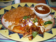 Enchiladas from Blue Agave