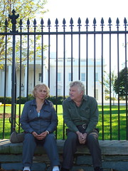Mom and Dad Outside the Whitehouse
