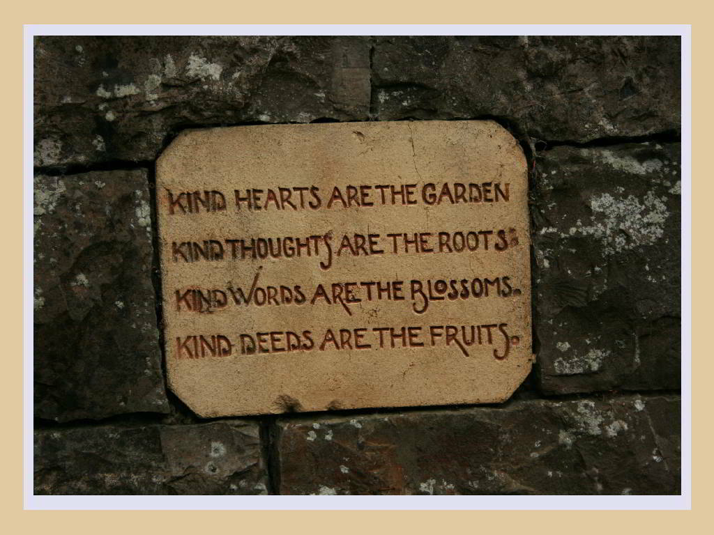 Thoughts in a Garden