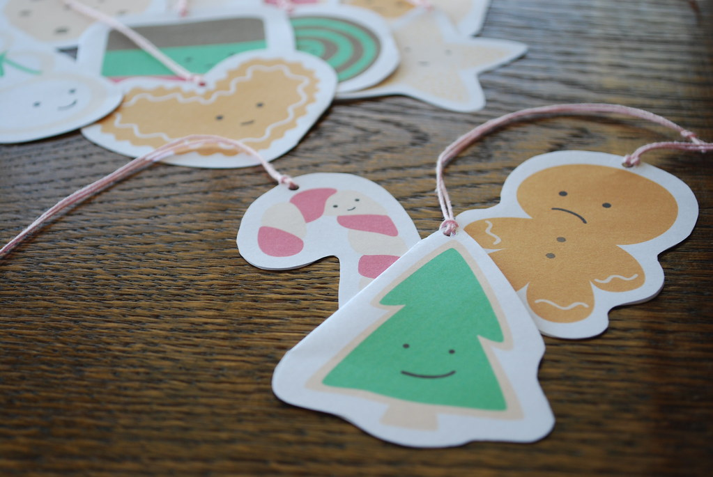 Gift Tag Ornaments