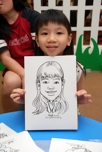 caricature live sketching for West Coast Plaza day 2 - 38